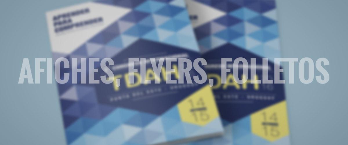 diseño gráfico y web - revistas - afiches-flyers-folletos