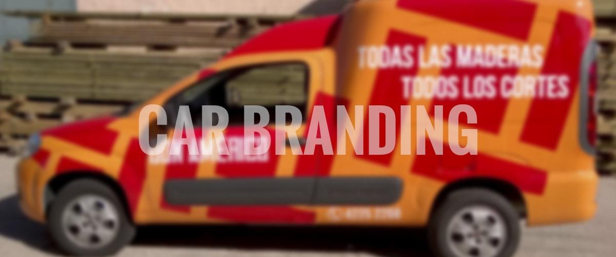 diseño gráfico y web - car branding