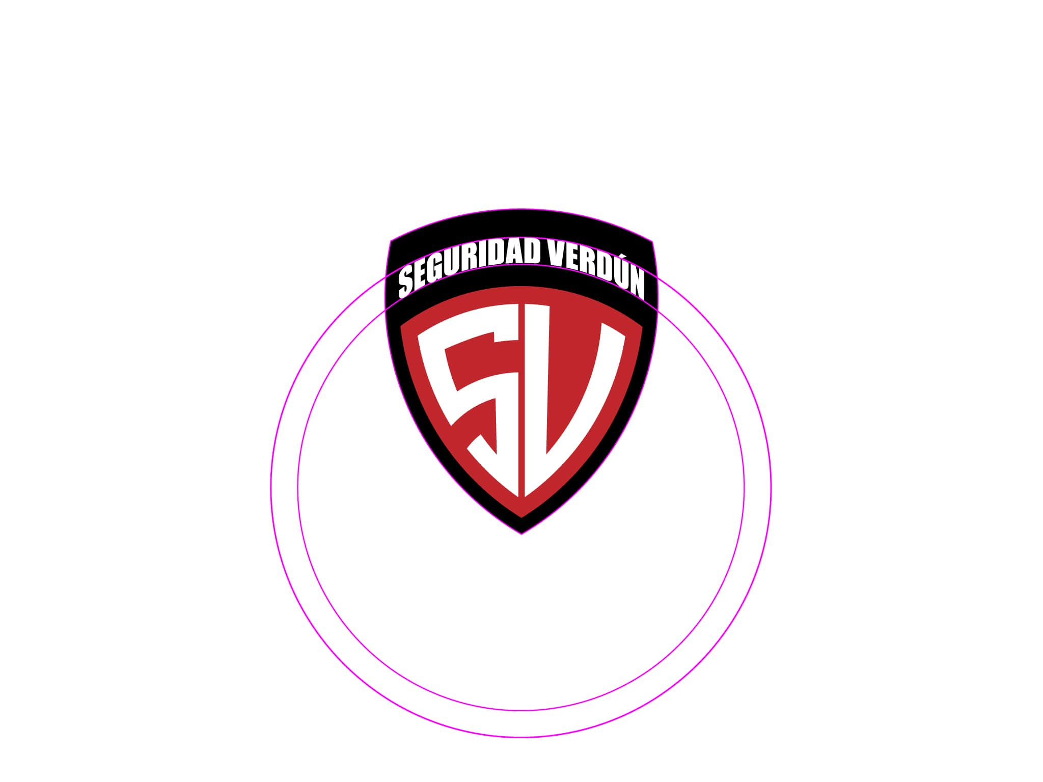seguridad verdun branding