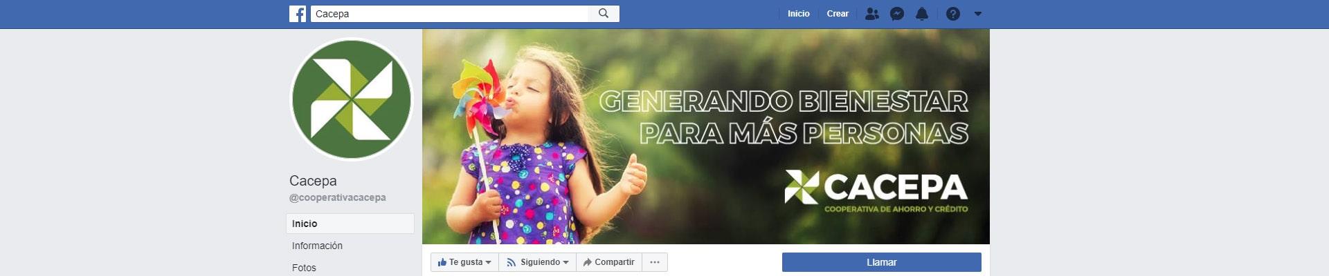 graficas facebook cacepa