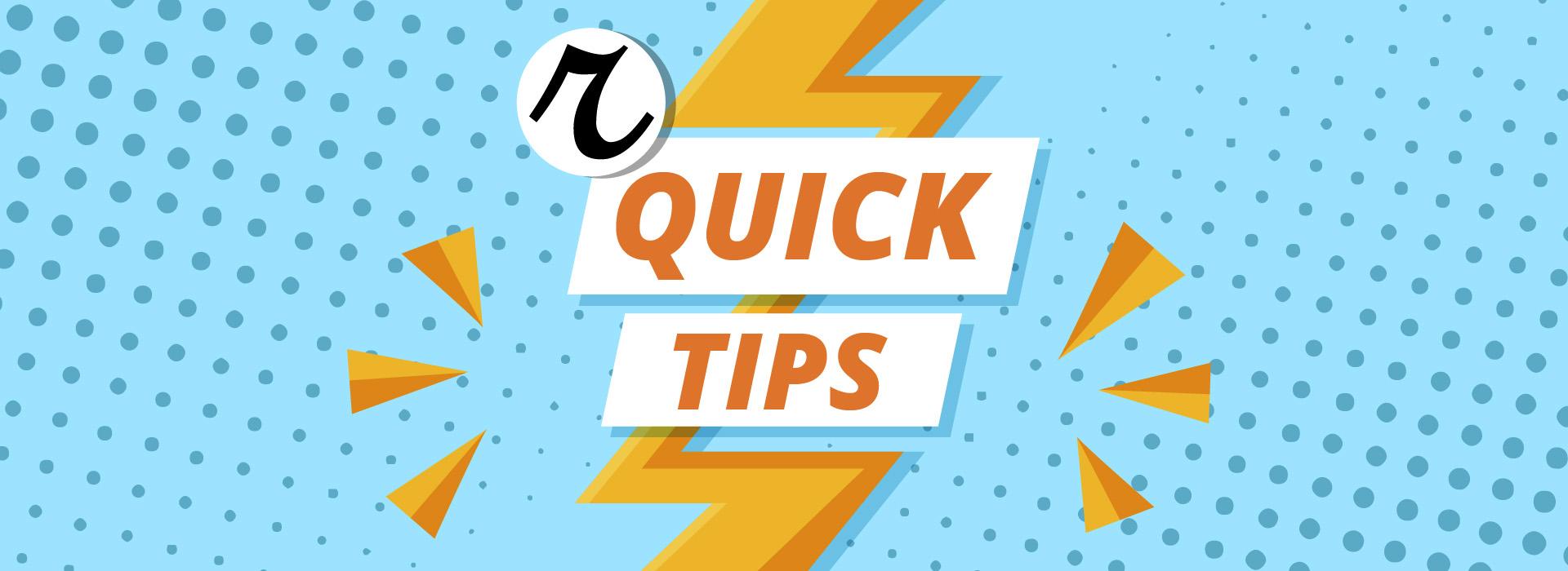 Tips para