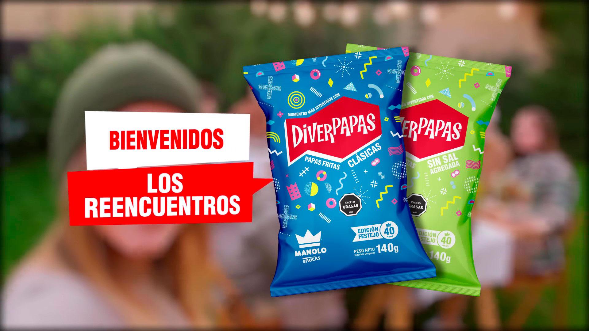 Nueva campaña de Diverpapas
